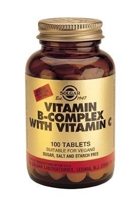 B komplex med C vitamin 100 tabletter