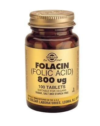 Folsyra 800mcg 100 tabletter
