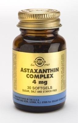 Astaxantin komplex 4mg 30 kapslar