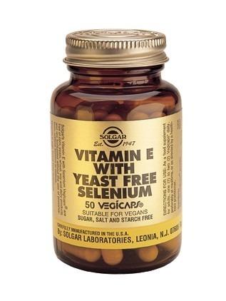 Vitamin E med Selen 100 kapslar